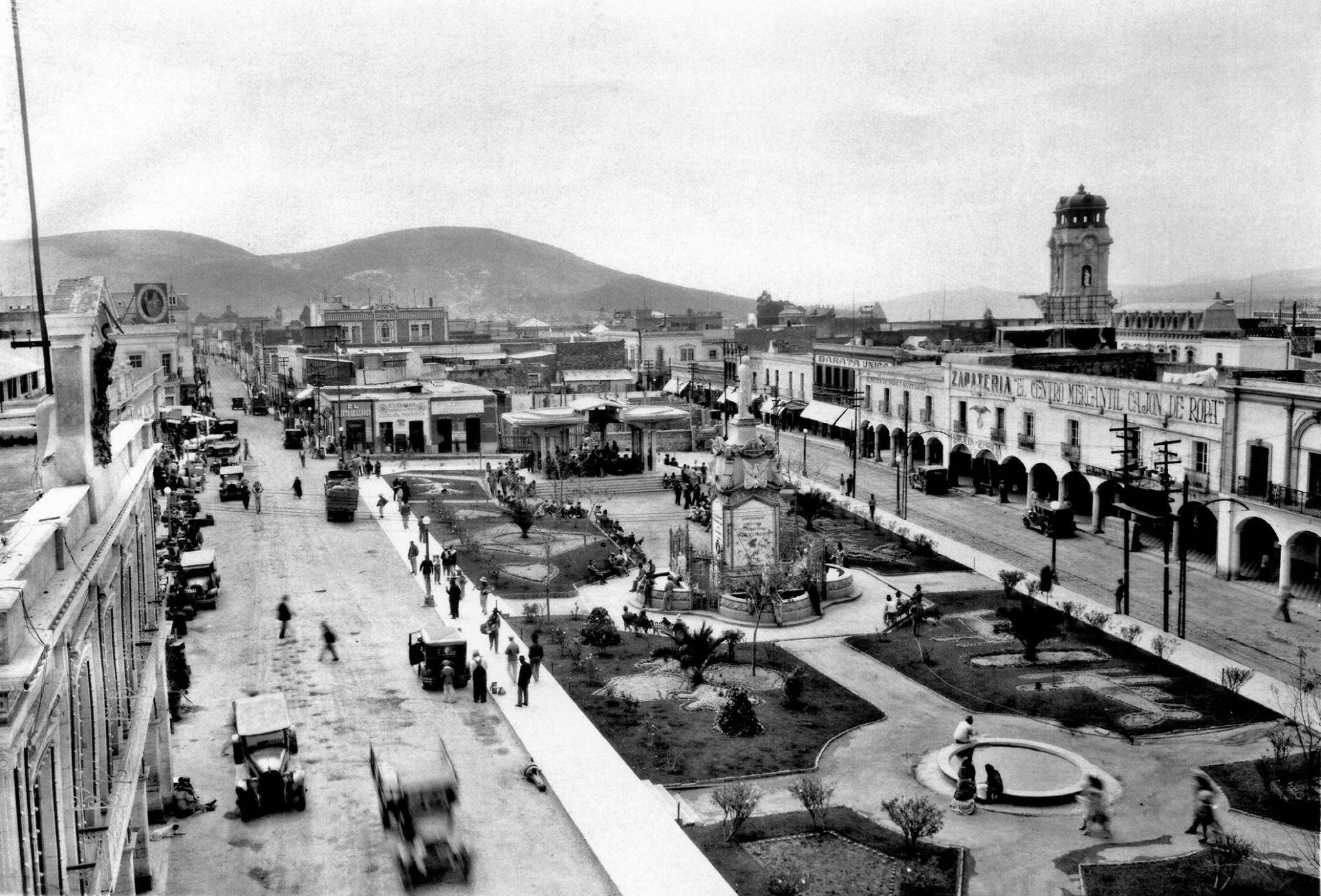 Plaza de la Constitución en 1930