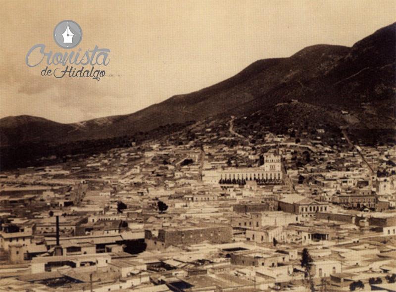 Descripción: F:\Archivo Bustamante  Pachuca 1910\Pachuca Vista al Noroeste.jpg